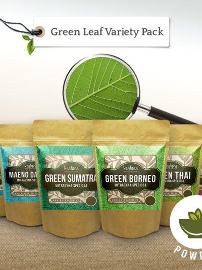 Green leaf kratom pack