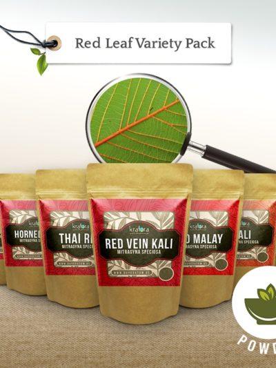 Red leaf kratom variety pack