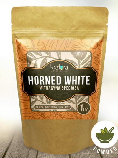 Buy Horned White Kratom at Kratora
