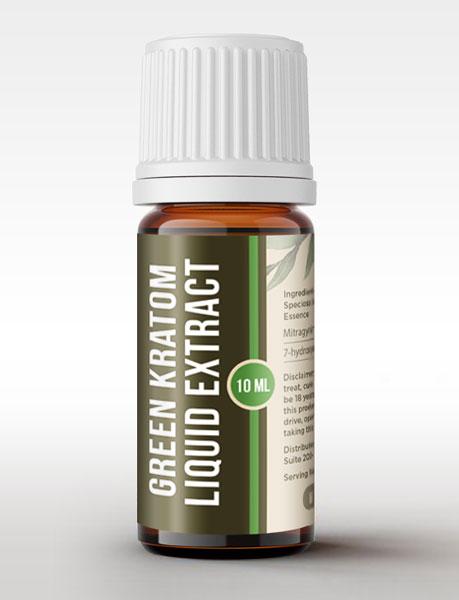 Kratora's new liquid green kratom tincture.