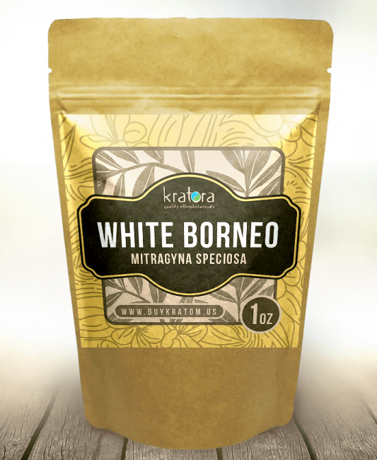 Buy White Vein Borneo Kratom